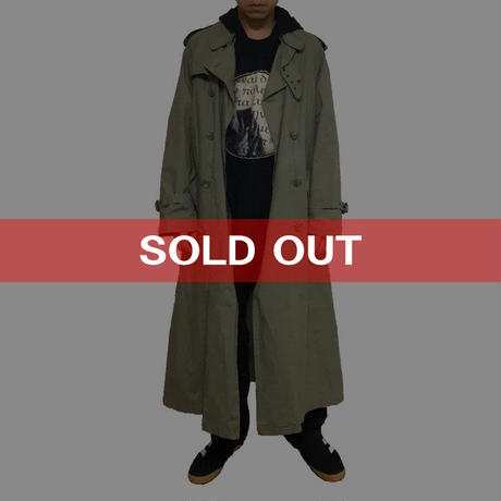 【USED】POLO BY RALPH LAUREN LONG TRENCH COAT