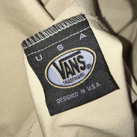 【USED】00'S VANS SHIRT JACKET