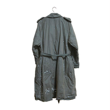 【USED】90'S  C.P.COMPANY WAXED LONG COAT