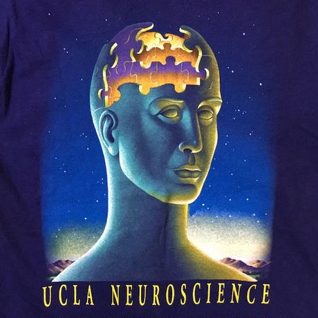 【USED】90'S UCLA NEUROSCIENCE T-SHIRT