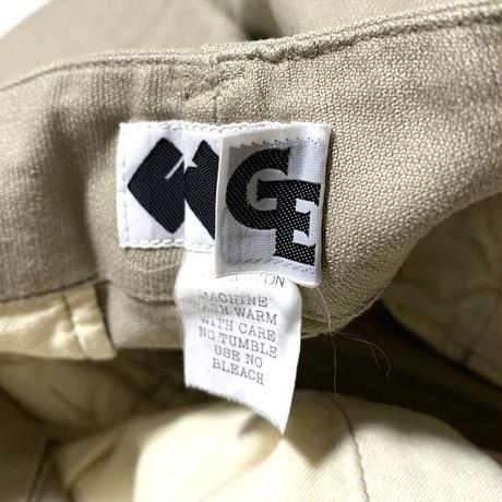 【USED】00'S GOODENOUGH × FINESSE GIMMICK DESIGN CARGO PANTS