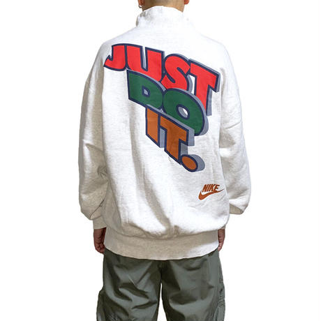 【USED】90'S NIKE HI-NECK SWEATSHIRT