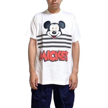 【USED】90'S LENTICULAR MICKEY T-SHIRT