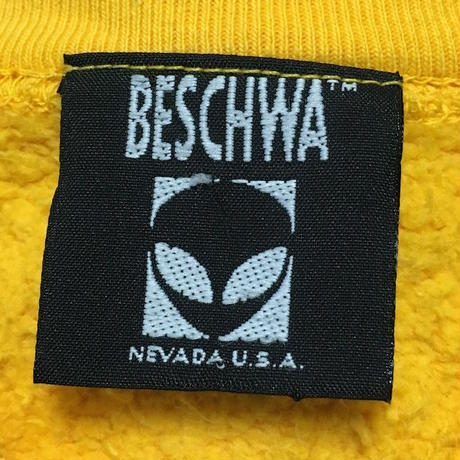 【USED】90'S BESCHWA SWEATSHIRT