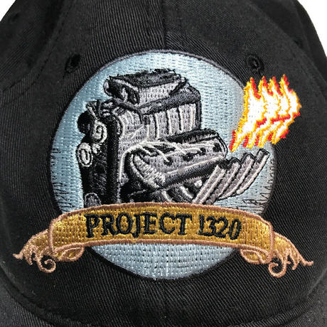 【USED】PROJECT 1320 EMBROIDERED CAP