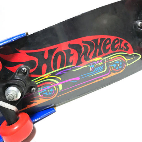 "【DEADSTOCK】90'S HOT WEELS 21"" KID'S SKATEBOARD"