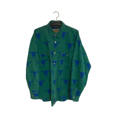 【USED】90'S BUFFALO SHIRT