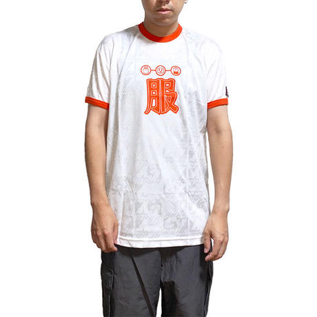 """【DEAD STOCK】90'S CY-BORG """"服"""" GAME T-SHIRT RED"""