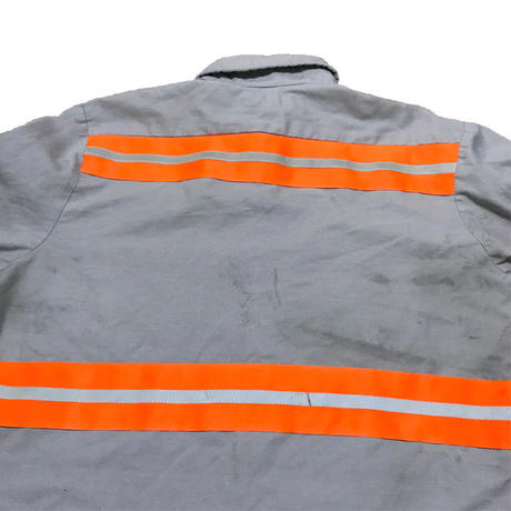 【USED】SAFETY REFLECTIVE WORK SHIRT
