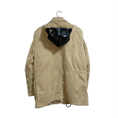 【USED】00'S C.P. COMPANY RUBBER GOGGLE HOOD JACKET