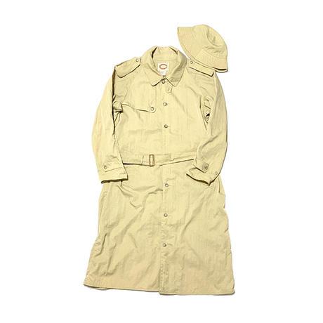 【USED】80'S BANANA REPUBLIC OVERSIZED NYLON COAT WITH HAT