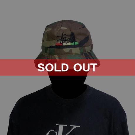 【USED】90'S STUSSY CAMO HAT