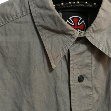 【USED】90'S  INDEPENDENT S/S SHIRT