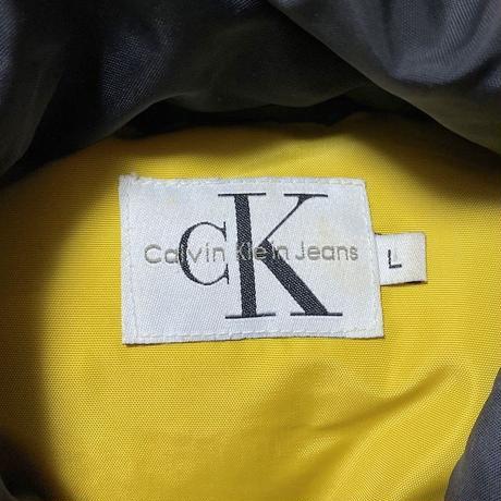 【USED】90'S CK CALVIN KLEIN JEANS PADDED NYLON JACKET