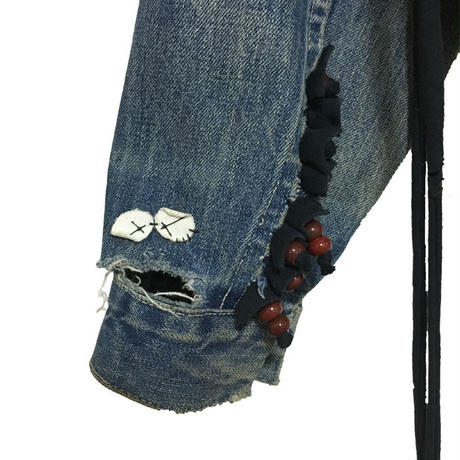 "【USED】VINTAGE NOKI CUSTOMIZED LEVIS ""BIG-E"""