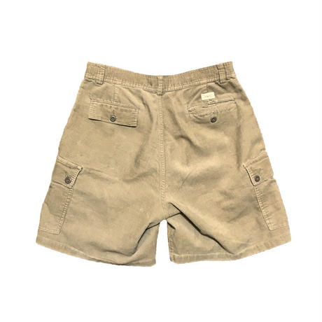 【USED】90'S POLO BY RALPH LAUREN CORDUROY CARGO SHORTS