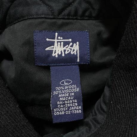 【USED】90'S-00'S STUSSY CPO SHIRT