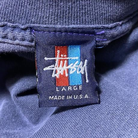【USED】90'S  STUSSY T-SHIRT 2PIECE SET