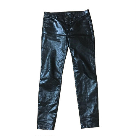 【USED】CHANEL HOMME COATED TROUSERS