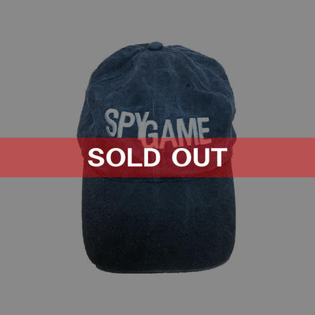 【USED】SPY GAME EMBROIDERY CAP
