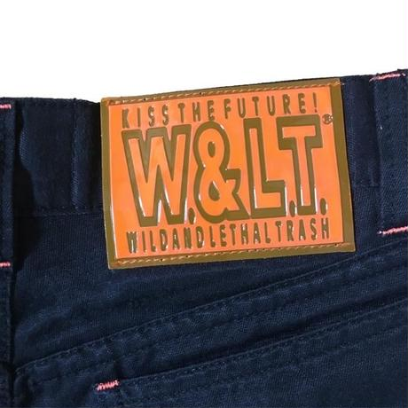 【USED】90'S W&LT STRAIGHT TROUSERS