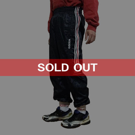 "【USED】90'S ADIDAS TROUSERS ""THE WORLD BRAND WITH THE 3 STRIPES"""