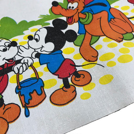 【USED】50'S DISNEY PLACE MAT