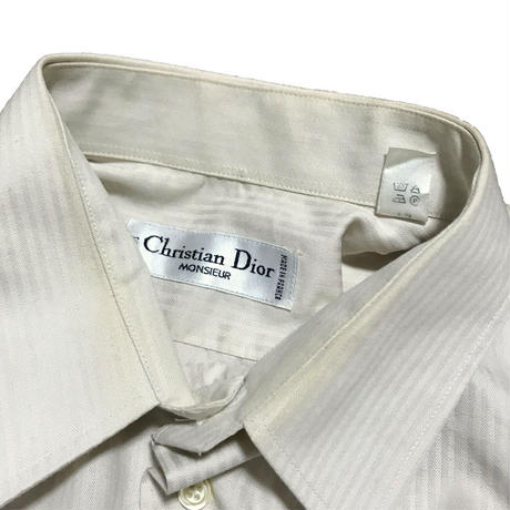 【USED】CHRISTIAN DIOR MONSIEUR DRESS SHIRT