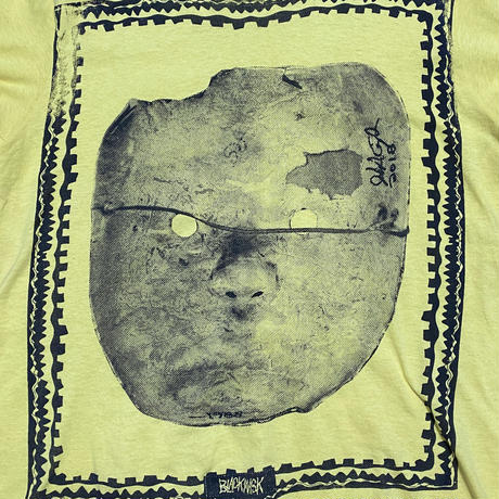 """【USED】OLD GHOSTS DESIGNS L/S T-SHIRT """"BLACK MASK"""" (REPLO)"""