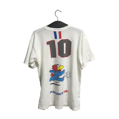 【USED】90'S SOCCER FRANCE WORLD CUP T-SHIRT
