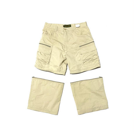 【USED】90'S TIMBERLAND 2-WAY CROPPED PANTS