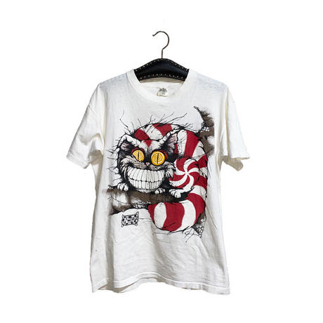 【USED】90'S ALICE IN WONDERLAND CHESHIRE CAT T-SHIRT