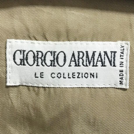 【USED】80'S-90'S GIORGIO ARMANI OVERSIZED COAT