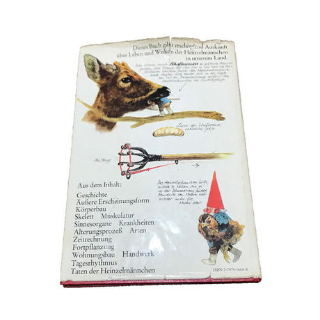 "【USED】VINTAGE GERMAN BOOK ""HEINZELMÄNNCHEN"""