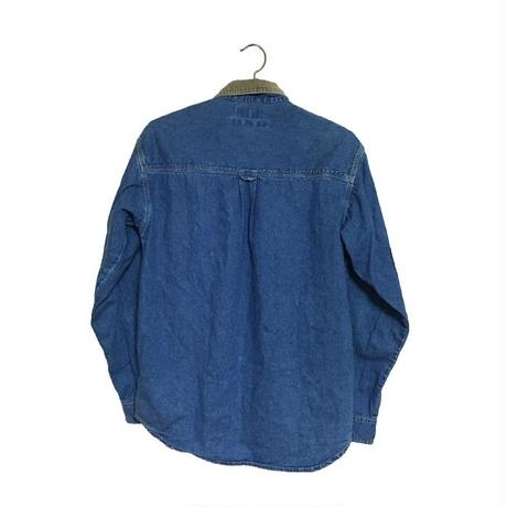 【USED】COLUMBIA ELBOW PATCH DENIM SHIRT