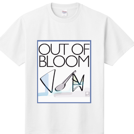 丸首両面out of bloom T