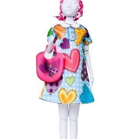 Lev.2 着せ替え人形のお洋服作り Dress your doll -heart-