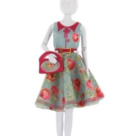 Lev.3 お人形の洋服作り Dress your doll -peony-