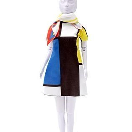 Lev.2 着せ替え人形のお洋服t作り Dress your doll -modern-
