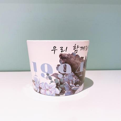 【全国配送】ドリンク券1枚+BTS ナムジュン 誕生日カップホルダー