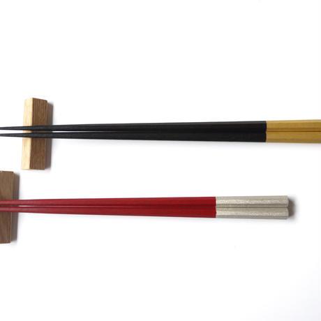 えちぜん箸 箸置付夫婦箸 吉祥