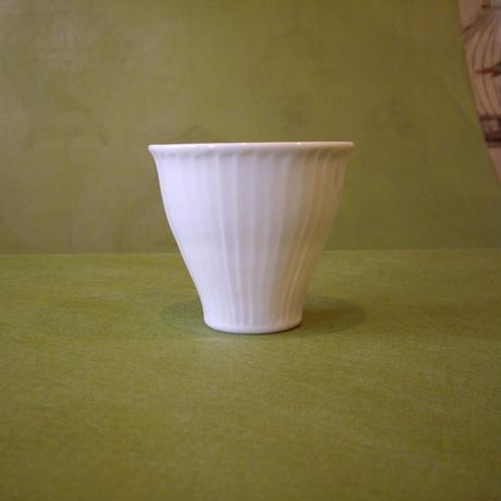 波佐見焼 一真窯     白磁「フリーカップ」4種類