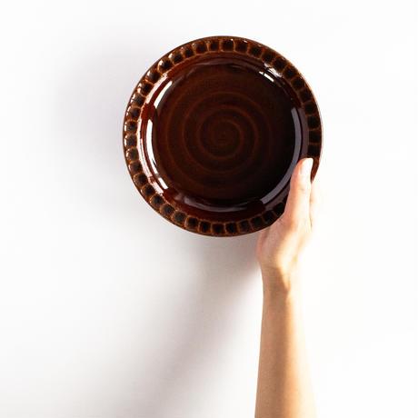 リムしのぎ皿 小 全3色