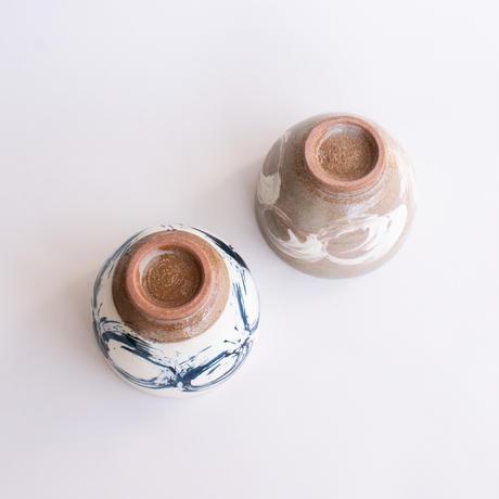 かゆ碗 丸紋 全2色