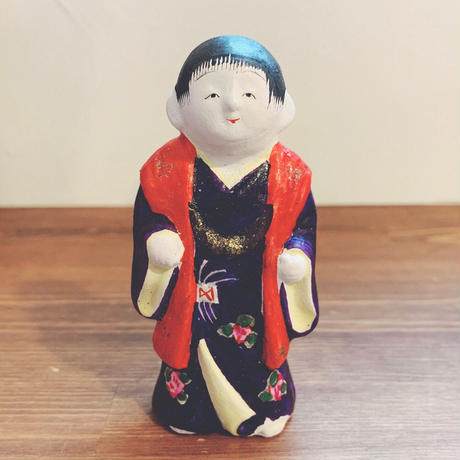 中野土人形の『饅頭喰い』