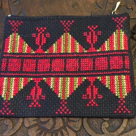 パレスチナ手刺繍 コインパース【2】