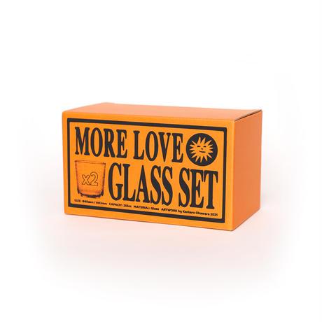 PAIR GLASS