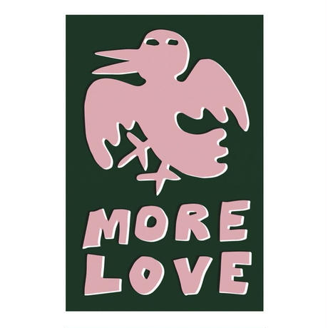 MORE LOVE STICKER