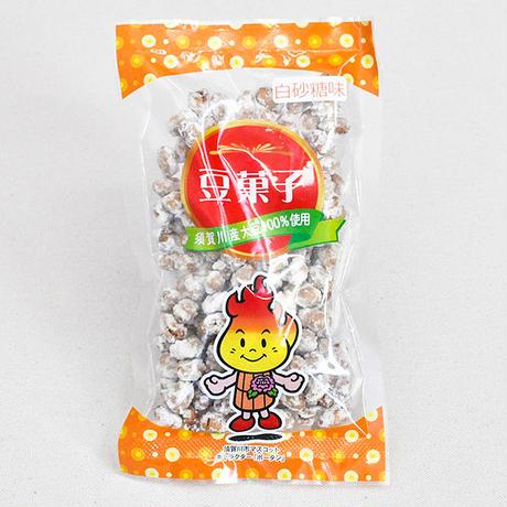 大豆のおいしさがひきたつ豆菓子「白砂糖」(100g)