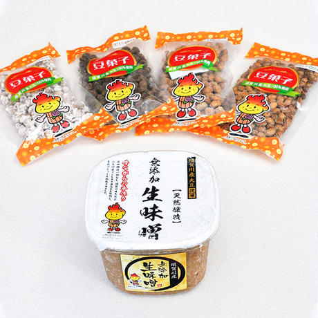 ビールのお供に、豆菓子「揚げ塩味」(90g)